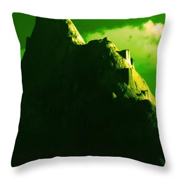 Ancient Civilization Throw Pillow by J Riley Johnson
