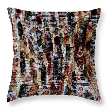 Ancient Etch Throw Pillow by TB Schenck