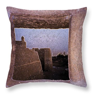 Ancient Watch Throw Pillow by First Star Art