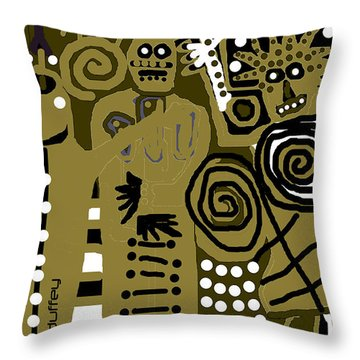Ancients 1d Throw Pillow