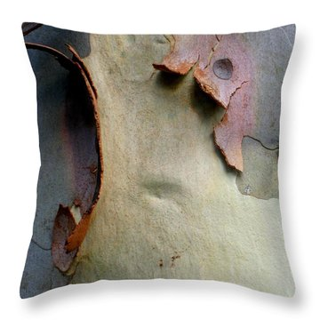And God Made Trees Throw Pillow by Robert Margetts