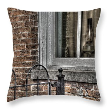 And Half A Broom Throw Pillow by William Fields