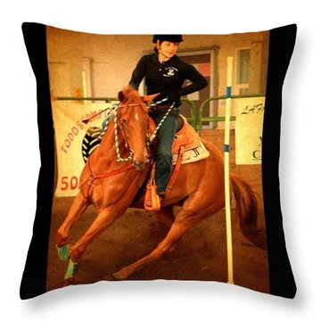 Andy And Chrissy Turning #together Throw Pillow