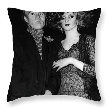 Andy Warhol (1928-1987) Throw Pillow by Granger