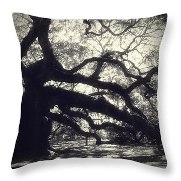 Angel Throw Pillow by Amy Tyler
