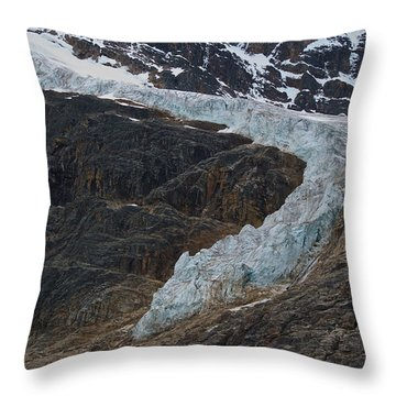 Angel Glacier 2 Throw Pillow