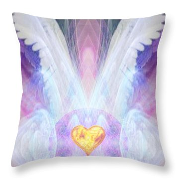 Angel Of The Innocent Throw Pillow