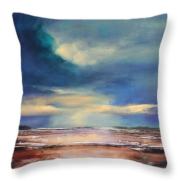 Angel Sky Throw Pillow by Toni Grote