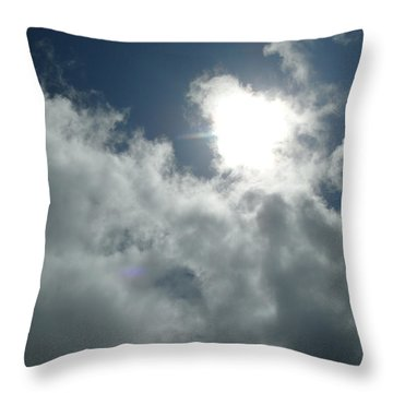 Angelic Throw Pillow by James Barnes