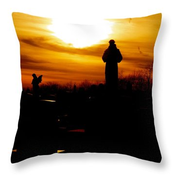 Angel's In The Sky Throw Pillow