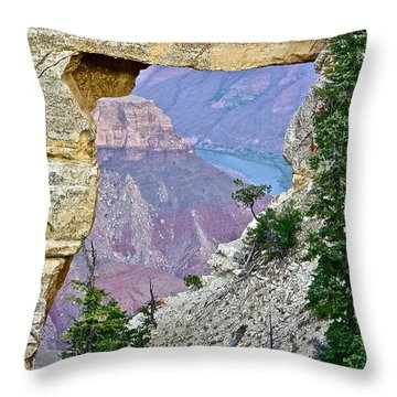 Angel's Window Four Throw Pillow
