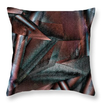 Angst II Throw Pillow
