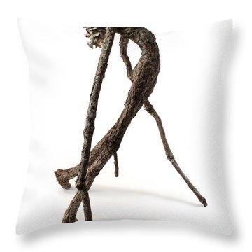 Anguish Throw Pillow by Adam Long