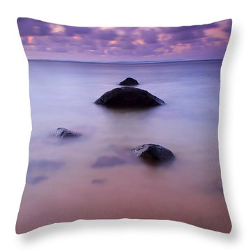 Anini Breeze Throw Pillow by Mike  Dawson
