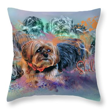 Another Birthday 112 Years Throw Pillow