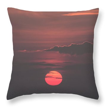 Another Day Down Throw Pillow by Mark Papke
