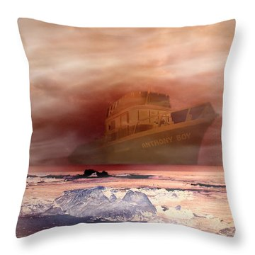 Anthony Boy's Magical Voyage Throw Pillow