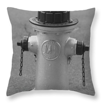 Antique Fire Hydrant Cambridge Ma Throw Pillow
