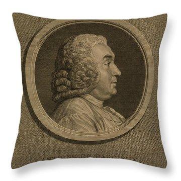 Antoine Deparcieux Throw Pillow by Granger