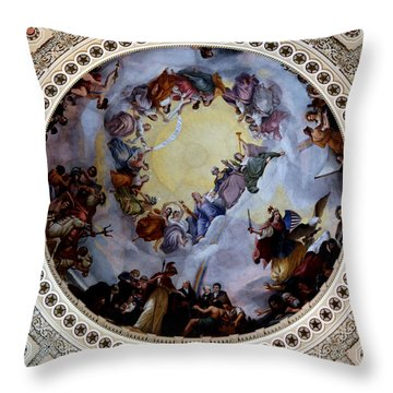 Throw Pillow featuring the photograph Apothesis Of Washington by Pravine Chester