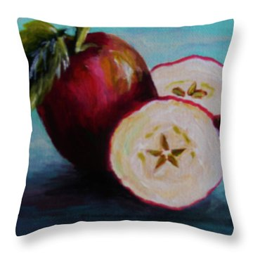Apple Magic Throw Pillow