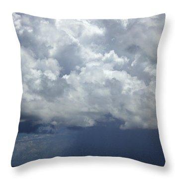 Approaching Storm IIi Throw Pillow