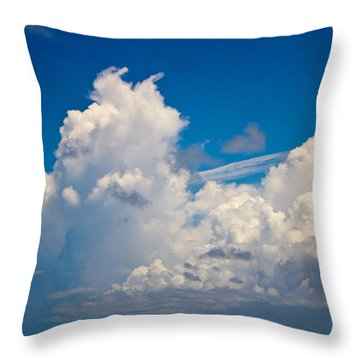 Approaching Storm Iv Throw Pillow