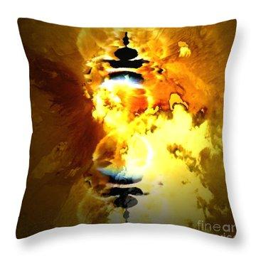 Arabian Dreams Number 5 Throw Pillow