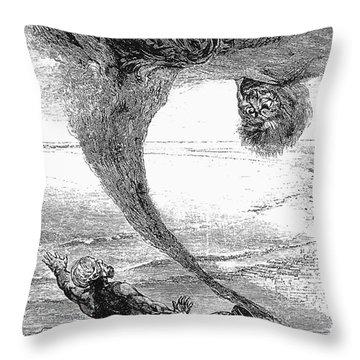 Arabian Nights, 1903 Throw Pillow by Granger