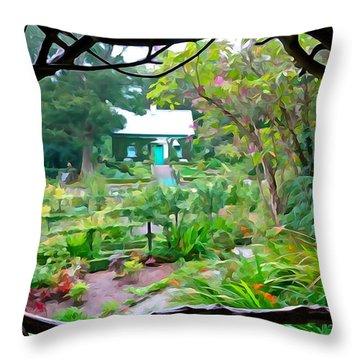 Arbor View Throw Pillow