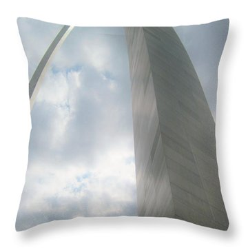 Arch In The Sky Throw Pillow