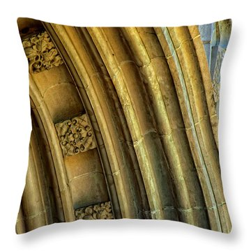 Arch Throw Pillow by Kathleen K Parker
