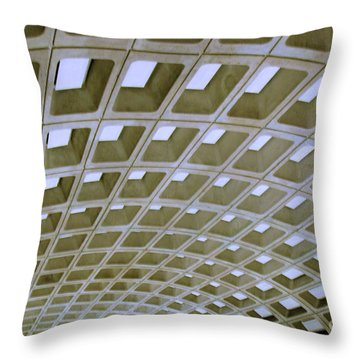 Arches Throw Pillow by Mark Dodd