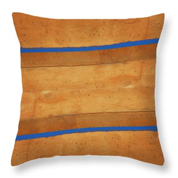 Architecture 12-2 Throw Pillow by Lenore Senior