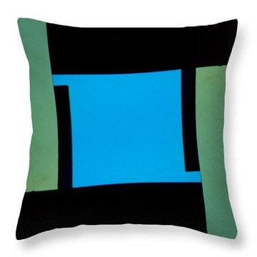 Architecture 13-2 Throw Pillow by Lenore Senior