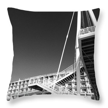 Architecture Throw Pillow by Gaspar Avila