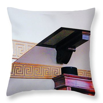 Throw Pillow featuring the photograph Architecture  by Lizi Beard-Ward