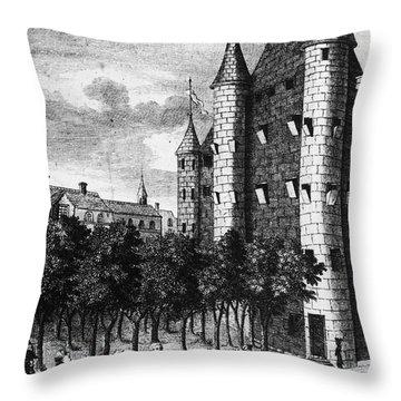 Aristocrat Prisoners, C1793 Throw Pillow by Granger