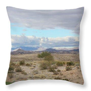 Arizona Desert View Throw Pillow