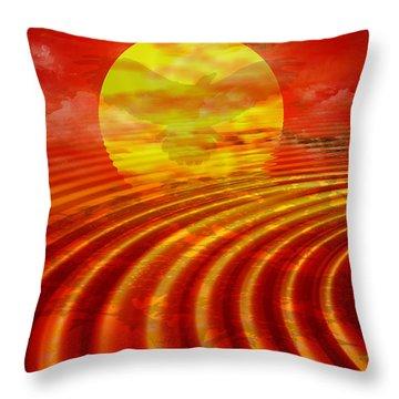 Arizona Throw Pillow by Robert Orinski