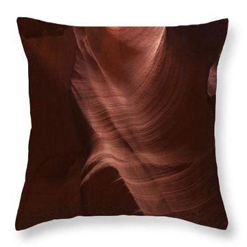 Arizona Slot Canyon Throw Pillow