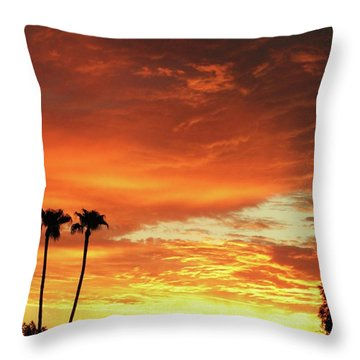 Arizona Sunrise 02 Throw Pillow