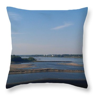 Arkansas Crossing Throw Pillow by Kelly Turner