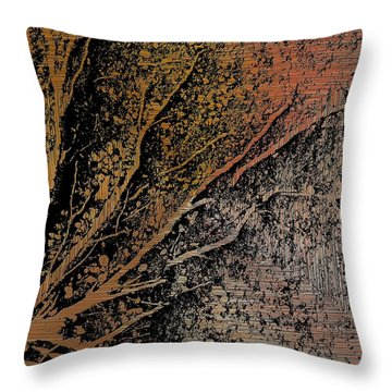 Arms Of Life Throw Pillow by Tim Allen
