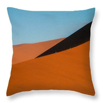Around The Edge Throw Pillow