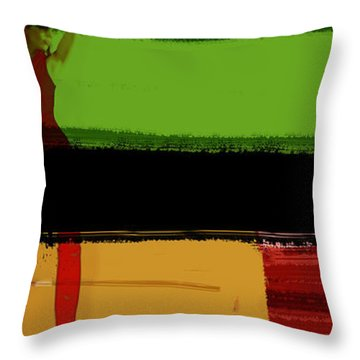 Art And Fashion Throw Pillow