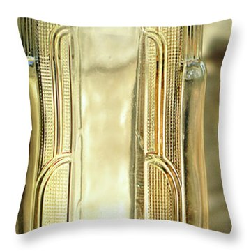 Art Deco Form And Function Throw Pillow by Rebecca Sherman