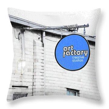 Art Factory Throw Pillow