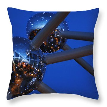 Art In Architecture 3 Throw Pillow by Bob Christopher