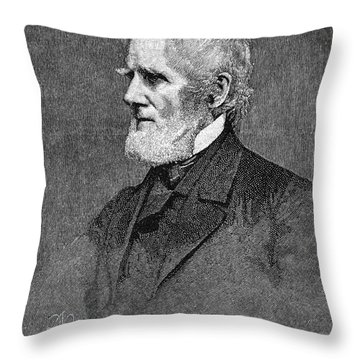 Arthur Tappan (1786-1865) Throw Pillow by Granger